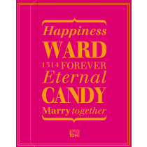 WARD_CANDY(桃紅)喜餅禮盒