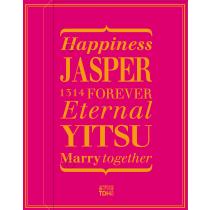 JASPER_YITSU(桃紅)喜餅禮盒