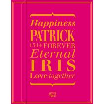 PATRICK_IRIS(桃紅)喜餅禮盒