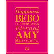 BEBO_AMY(桃紅)喜餅禮盒