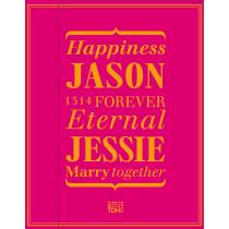 JASON_JESSIE(桃紅)喜餅禮盒