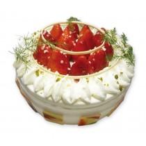 夢幻莓甜心生日蛋糕