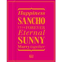 SANCHO_SUNNY(桃紅)喜餅禮盒